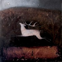 In the spaces between words by Catherine Hyde
