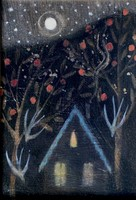 Under the breathing trees by Catherine Hyde