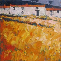Russet row by John Piper