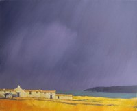 Storm skies by John Piper
