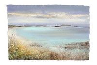 On the beach Tresco  by Amanda Hoskin