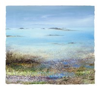 Abstract colours, Tresco by Amanda Hoskin