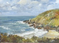 Porthmeor Cove by David Rust