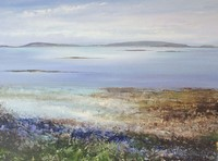 Tresco Blues, Scillies  by Amanda Hoskin