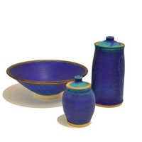 Dish / lidded pots<br>&pound;25 /  &pound; 25 (from) by Bryony Rich