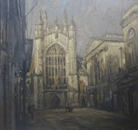 Bath Abbey   by Benjamin Warner