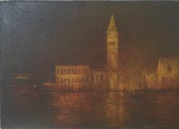 Towards St Marks Square, Venice by Benjamin Warner