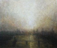 Dawn Towards Battersea Power Station  by Benjamin Warner