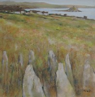 Above Mounts Bay by Michael Praed