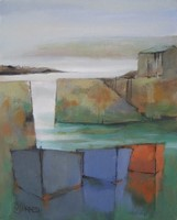 Morning harbour by Michael Praed