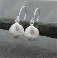 Cockle shell drops<br>Earings from £70 by Fay Page