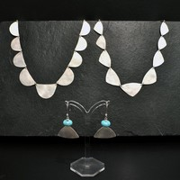Earings from £59<br>Bracelets from £41<br>Necklaces from £81 by Sarah Watson