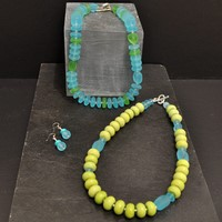 Semi-precious stones and silver Earrings from £22 Bracelets from £48 Necklaces from £62 by Tessa Tyldesley