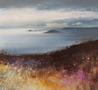 Winter sky over the Eastern Isles by Amanda Hoskin