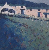 Evening blue by John Piper