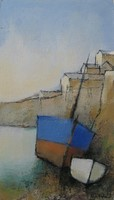 Corner of the harbour by Michael Praed