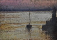 Sunrise, Newlyn Harbour  by Benjamin Warner