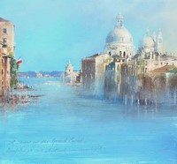 The Grand Canal, Venice  by Amanda Hoskin