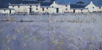 Lavender row by John Piper