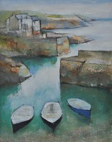 Green harbour - looking down by Michael Praed