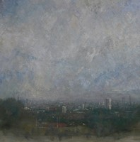 London Skyline, From Parliament Hill  by Benjamin Warner