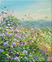Scabious and Knapweed by Mark Preston