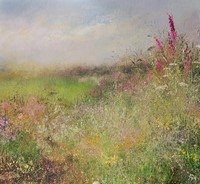 A Cornish hedgerow by Amanda Hoskin