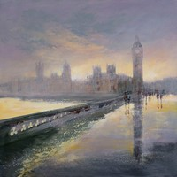 London, After Rain by Michael Sanders
