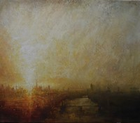 Sunrise towards the Shard II by Benjamin Warner