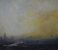 Dawn, Thames by Benjamin Warner