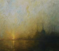 Sunrise Battersea Power Station by Benjamin Warner
