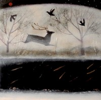 The slow beat of river by Catherine Hyde