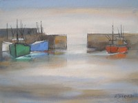 Harbour manoeuvres by Michael Praed