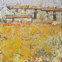 Autumn cottages by John Piper