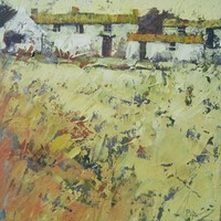 November cottages by John Piper