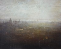 Venice skyline from Campanile Di San Marco by Benjamin Warner
