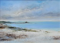Evening skies Scillies by Amanda Hoskin