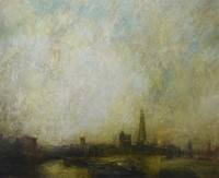 October, Thames by Benjamin Warner