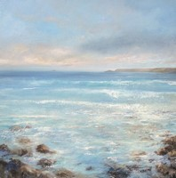 Around the pebbly beaches by Amanda Hoskin
