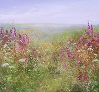 Flowers of the moor by Amanda Hoskin