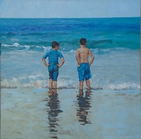 The boys in blue by David Axtell