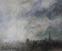 August, London skyline by Benjamin Warner