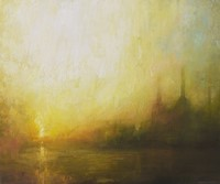 Sunrise, Battersea Power Station II by Benjamin Warner