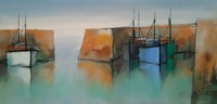 Peaceful harbour by Michael Praed