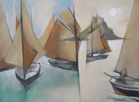 Cornish sails by Michael Praed