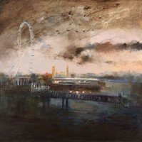 Dark Clouds London by Rosemary Trestini