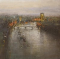 Nightfall, Thames by Benjamin Warner