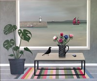St Ives & Eames house bird by Gemma Pearce
