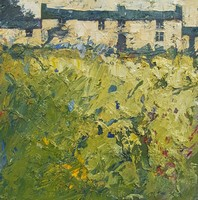 Cottage green by John Piper
