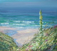 July afternoon, Sennen Cove by Mark Preston